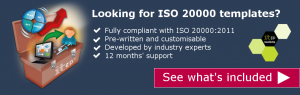 Looking for ISO 20000 templates