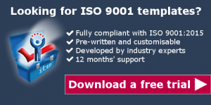 ISO 9001 templates