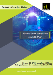 GDPR and ISO 27001