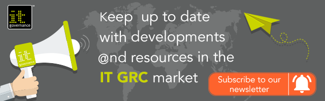 Keep up to date with developments and resources in the IT GRC market. Subscribe to our newsletter.