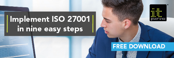 Implement ISO 27001 in nine easy steps