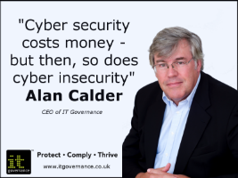 Cyber security costs monet - but then, so does cyber insecurity