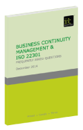 Business Continuity Management & ISO 22301 FAQ