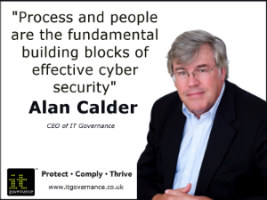 Process and people are the findamental building blocks of effective cyber security