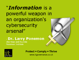 Information is a weapon