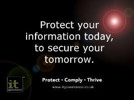 Protect your information today to secure your tomorrow
