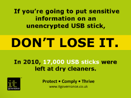 Don't lose your USB stick