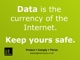 Data is the currency of the internet. Keep yours safe.