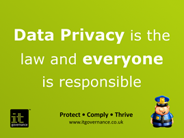 Data privacy is the law and everyone is responsible