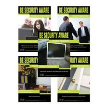 Information Security Awareness Posters (A1 Printed)