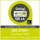 Certified ISO 27001 ISMS Lead Auditor Live Online Training Course