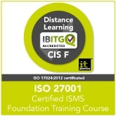 Certified ISO 27001 ISMS Foundation Distance Learning Training Course