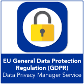 Data Privacy Manager Service (GDPR)