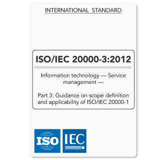 ISO20000-3 (ISO 20000-3) Guidance on Scope Definition (Hardcopy)