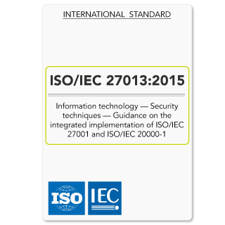 ISO27013 (ISO 27013) Integrated Implementation of ISO27001 and ISO20000