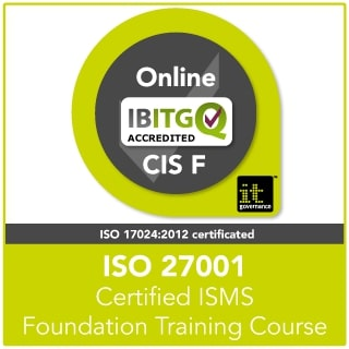 ISO27001 Certified ISMS Foundation Online