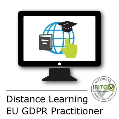 Certified EU General Data Protection Regulation (GDPR) Practitioner Distance Learning Training Course and Exam