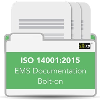 ISO 14001 - 2015 EMS Documentation Toolkit Bolt-on