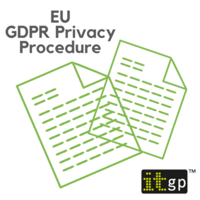 EU General Data Protection Regulation (GDPR) Privacy Procedure Template